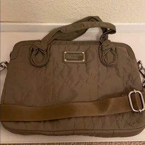 Marc Jacobs quilted laptop bag